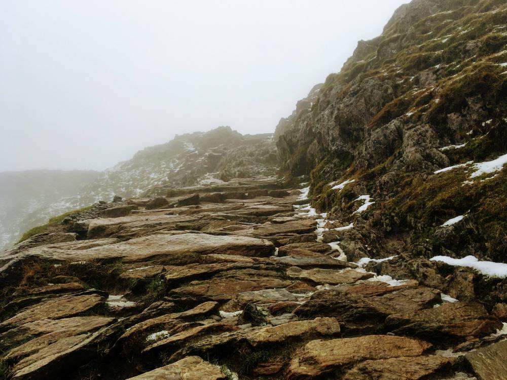 Mount Snowdon - Pyg Track