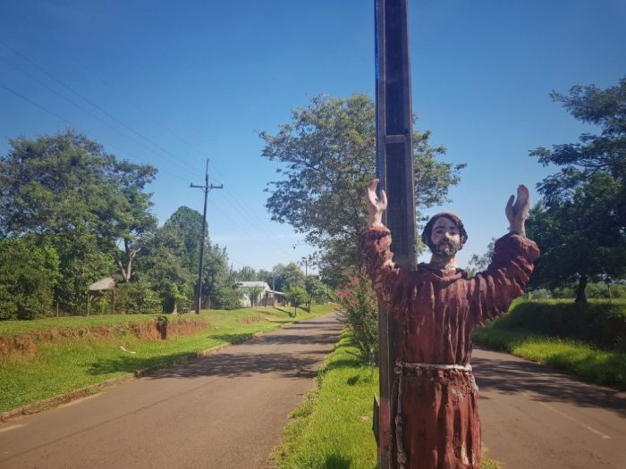Trinidad Paraguay Christian statue