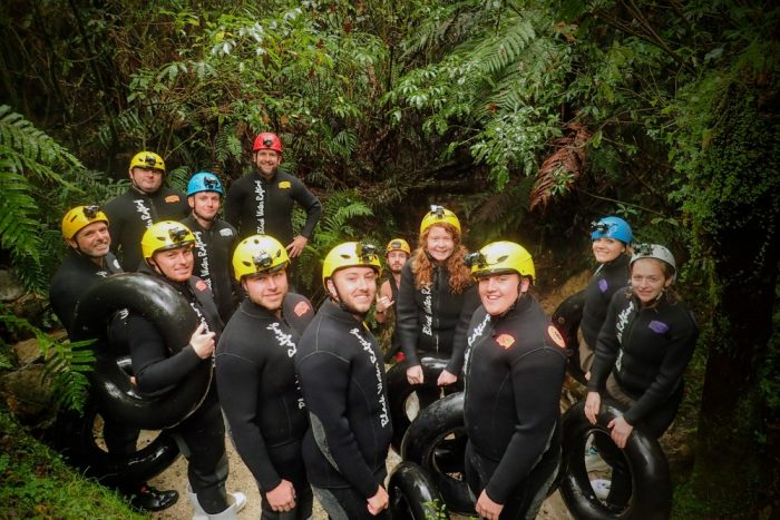 Waitomo Caves group