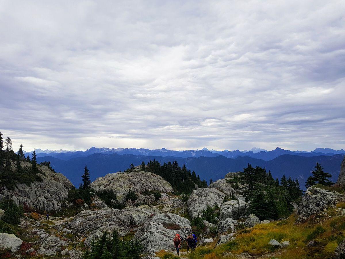 Elsay Lake Trail view